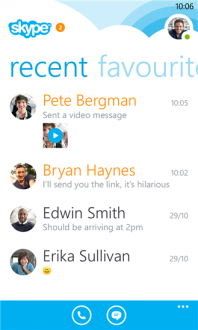 Skype для windows phone 8