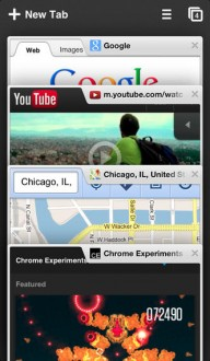 Google chrome для ipad, iphone