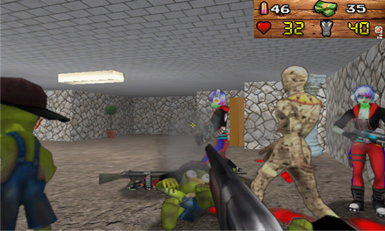 Zombie DOOM для Windows phone