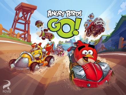 Angry Birds Go на андроид