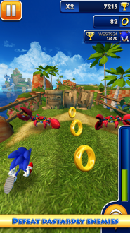 Sonic Dash для андроид