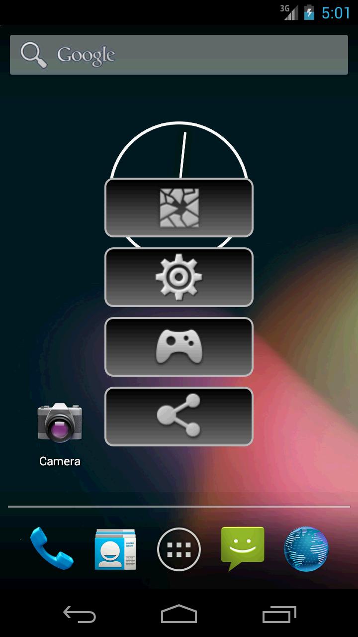 Как сделать главный экран на андроид