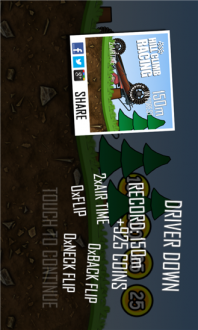 Hill Climb Racing для windows phone