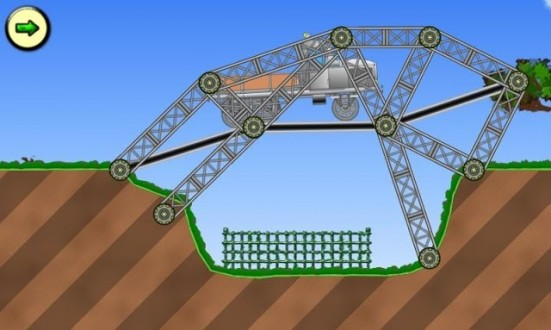 Железнодорожный мост на андроид