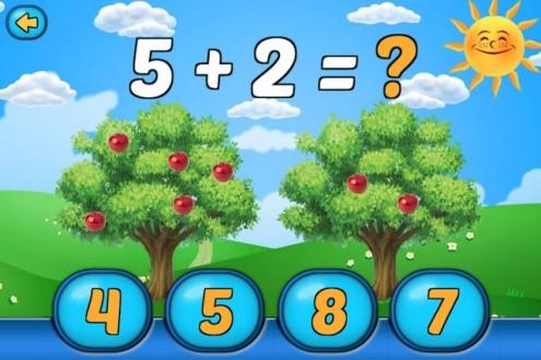 Математика для дошкольников на андроид