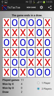 Крестики - нолики на андроид