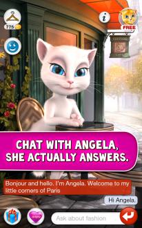 Говорящая Анджела на андроид