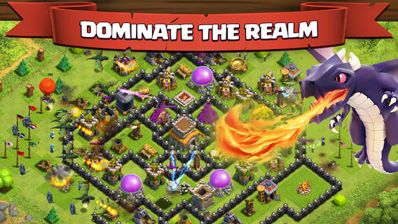 Clash of Clans для iPhone, iPad