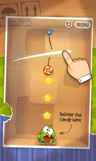 Cut the Rope на андроид