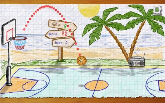 Doodle Basketball на андроид