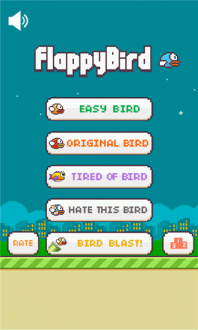 Flappy Bird 3 для windows phone