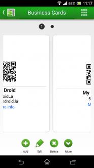 QR Droid на андроид