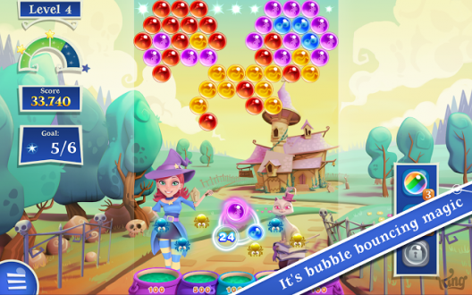 Bubble Witch Saga 2 скачать на андроид