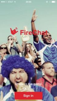 Firechat для iphone, ipad
