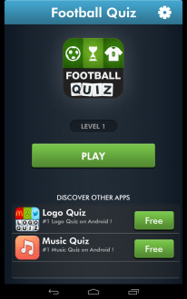 Футбольная викторина на андроид