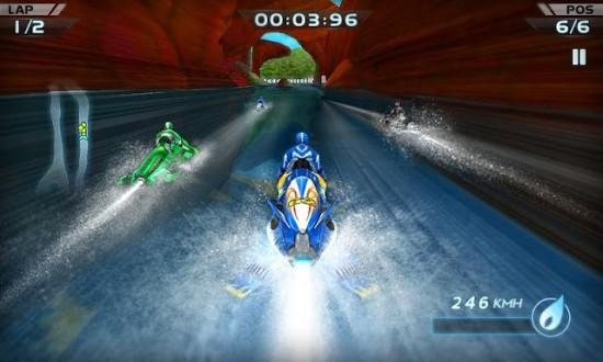 Гонки на водных мотоциклах на андроид