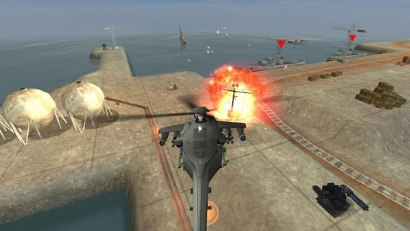 Gunship battle на андроид