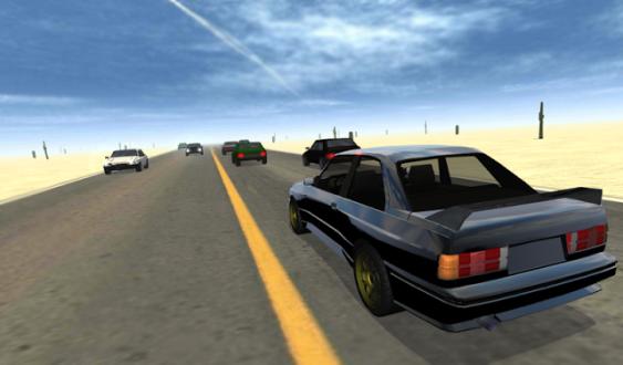 Desert Traffic Racer скачать на андроид