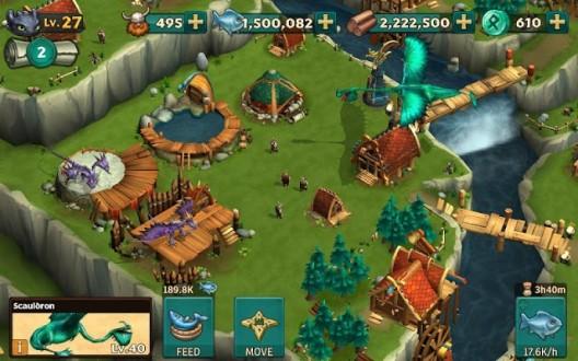 Dragons rise of berk скачать на андроид