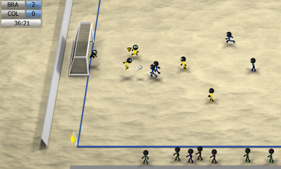 Stickman Soccer 2014 скачать на андроид