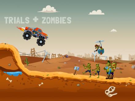 Zombie Road Trip Trials скачать на андроид
