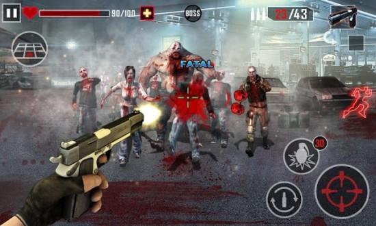 Zombie Killer скачать на андроид