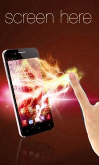 Электрический экран на андроид