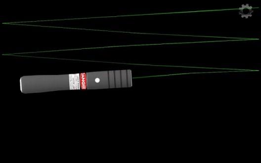 Симулятор лазерной указки для андроид