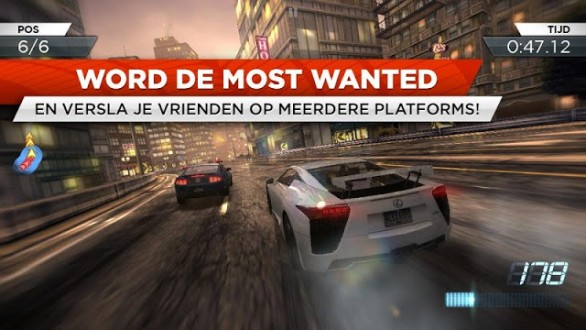 Need for Speed Most Wanted скачать на андроид