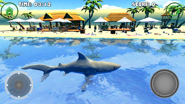 симулятор акулы игру скачать