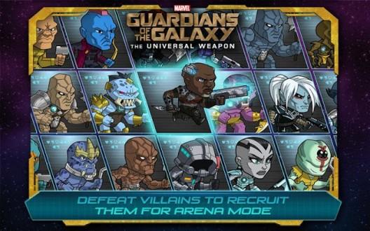 Стражи Галактики Оружие скачать на андроид
