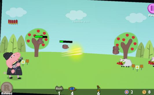 Свиньи мстят на андроид