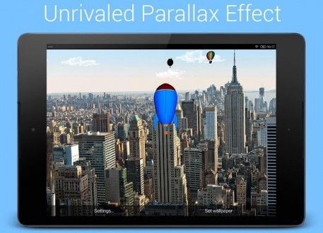 Живые обои воздушные шары для андроид