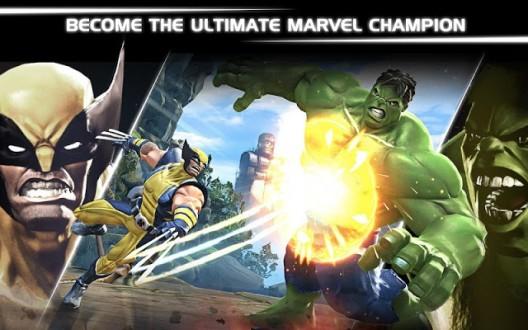 Марвел Битва чемпионов на андроид