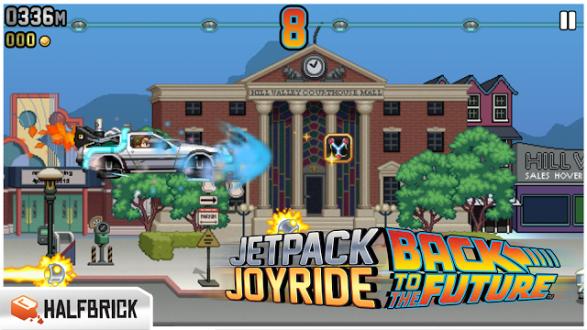 Jetpack Joyride на андроид