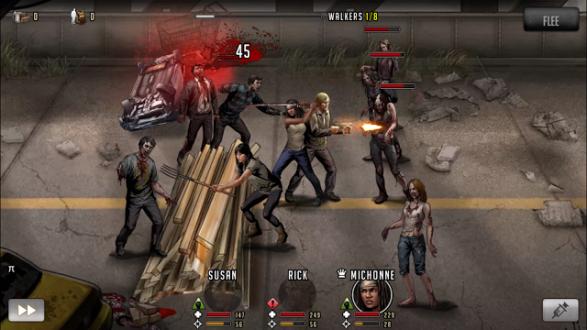 Игра Ходячие мертвецы на андроид
