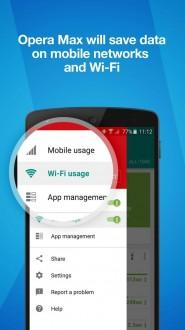 Opera Max (Опера макс) на андроид
