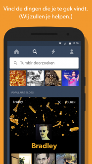 Tumblr на андроид
