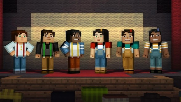 Minecraft Story Mode на андроид