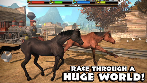 Ultimate Horse Simulator на андроид