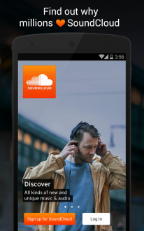 SoundCloud на андроид