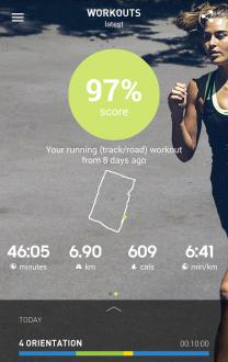 Adidas фитнес и бег на андроид