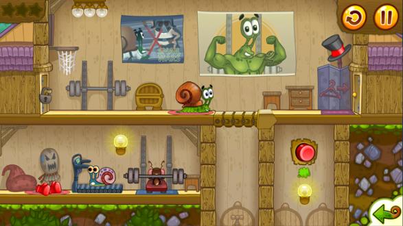 Snail Bob 2 на андроид