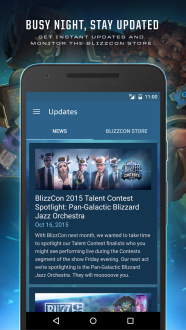 BlizzCon для Android