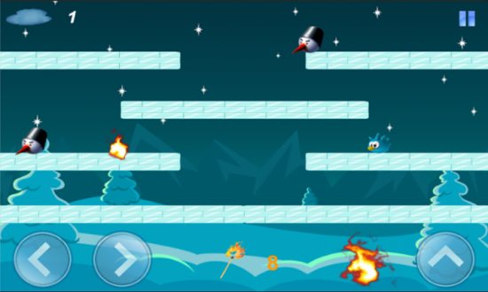 Snowy head для android
