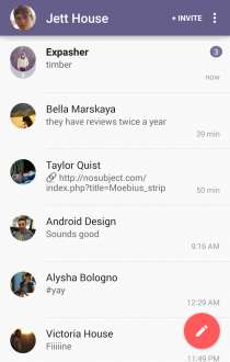 Dasher Messenger для android