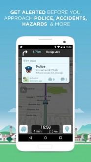 Waze социальный навигатор для android