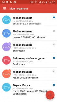 Дром Подписки для андроид