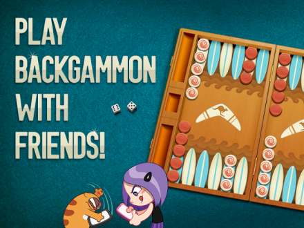 Viber Backgammon для android