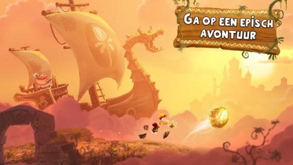 Rayman adventures для android